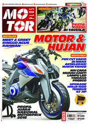 MOTOR PLUS Magazine Cover ED 1033 December 2018