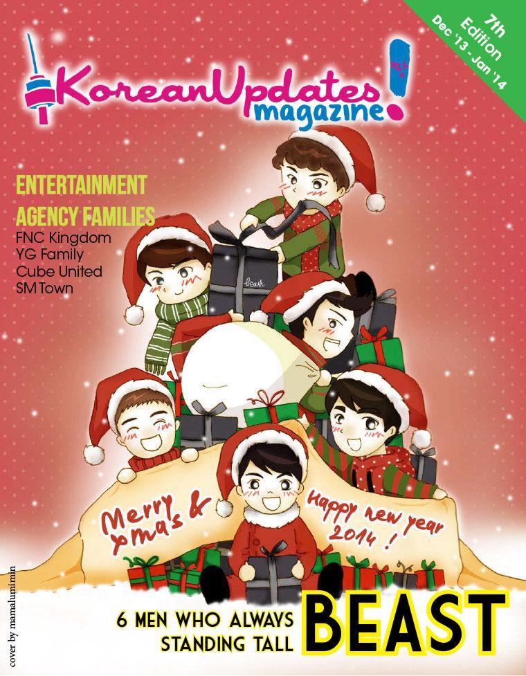 Majalah Digital KoreanUpdates! Desember–Januari 2014