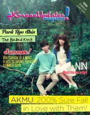 Cover Majalah KoreanUpdates! Juni 2014