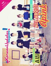 Cover Majalah KoreanUpdates! Agustus 2014