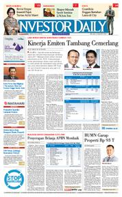 Cover INVESTOR DAILY 13 Maret 2018