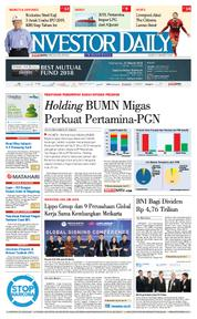 Cover INVESTOR DAILY 21 Maret 2018