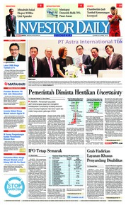 Cover INVESTOR DAILY 26 April 2018