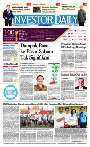 Cover INVESTOR DAILY 14 Mei 2018