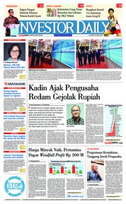 Cover INVESTOR DAILY 24 Mei 2018