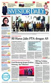 Cover INVESTOR DAILY 11 Juli 2018