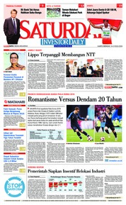 Cover INVESTOR DAILY 14 Juli 2018