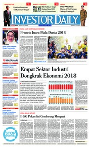 Cover INVESTOR DAILY 16 Juli 2018