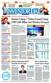 Cover INVESTOR DAILY 18 Juli 2018