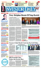 INVESTOR DAILY Cover 20 July 2018
