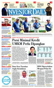 Cover INVESTOR DAILY 23 Juli 2018