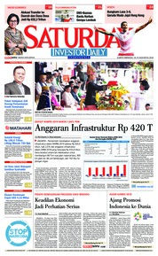 Cover INVESTOR DAILY 18 Agustus 2018