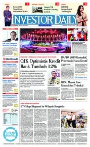 Cover INVESTOR DAILY 20 Agustus 2018