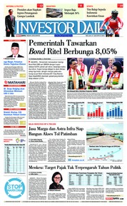 Cover INVESTOR DAILY 21 Agustus 2018