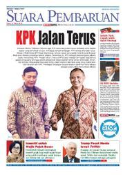 Cover SUARA PEMBARUAN 14 Maret 2018