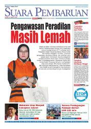 Cover SUARA PEMBARUAN 15 Maret 2018