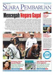 Cover SUARA PEMBARUAN 23 Maret 2018