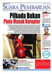 Cover SUARA PEMBARUAN 15 Februari 2018