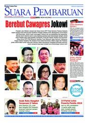 Cover SUARA PEMBARUAN 17 Februari 2018