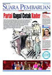 Cover SUARA PEMBARUAN 19 Februari 2018