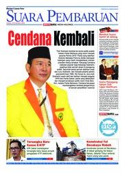 Cover SUARA PEMBARUAN 20 Februari 2018