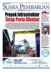 Cover SUARA PEMBARUAN 21 Februari 2018