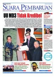 Cover SUARA PEMBARUAN 22 Februari 2018
