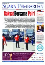 Cover SUARA PEMBARUAN 14 Mei 2018