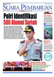 Cover SUARA PEMBARUAN 15 Mei 2018