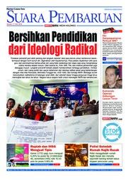 Cover SUARA PEMBARUAN 17 Mei 2018