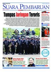 Cover SUARA PEMBARUAN 18 Mei 2018