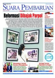 Cover SUARA PEMBARUAN 21 Mei 2018