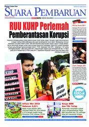 Cover SUARA PEMBARUAN 04 Juni 2018