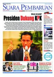 Cover SUARA PEMBARUAN 07 Juni 2018