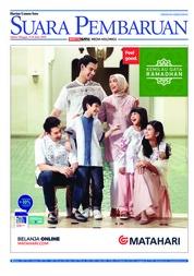 Cover SUARA PEMBARUAN 09 Juni 2018