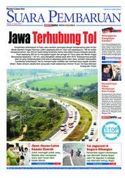 Cover SUARA PEMBARUAN 11 Juni 2018