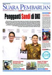Cover SUARA PEMBARUAN 11 Agustus 2018