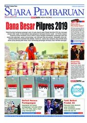 Cover SUARA PEMBARUAN 15 Agustus 2018