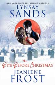 The Bite Before Christmas by Lynsay Sands Cover