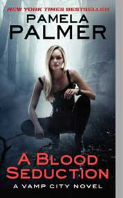 A Blood Seduction by Pamela Palmer Cover