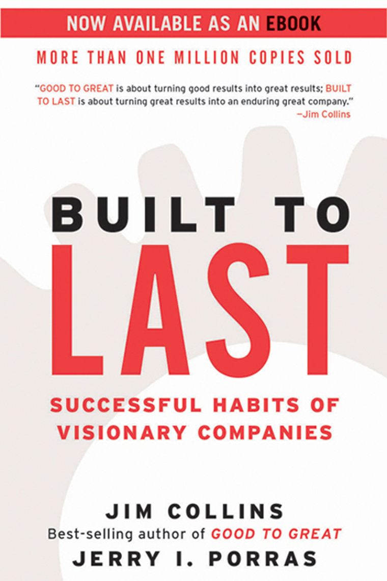 book review success built to last Book review: made to my prediction for made to stick is that it will join the tipping point and built to last as a must-read book review read our book.