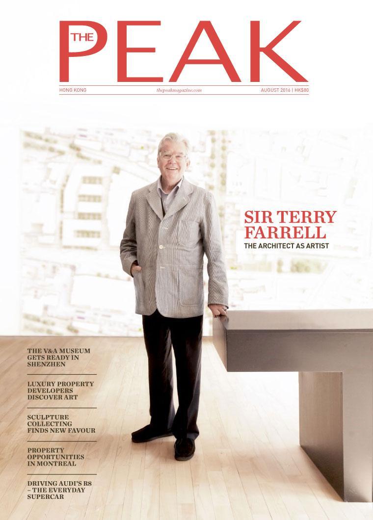 Majalah Digital THE PEAK Hongkong Agustus 2016