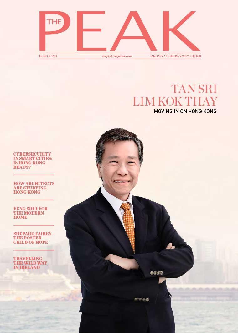 THE PEAK Hongkong Digital Magazine January 2017