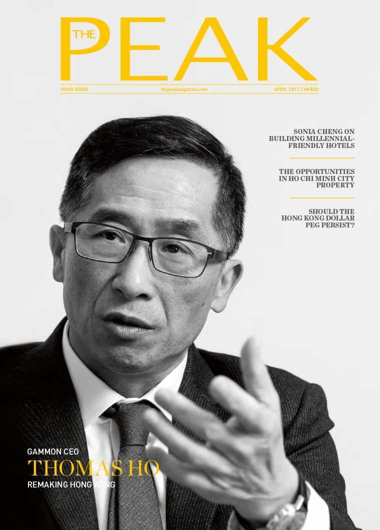 Majalah Digital THE PEAK Hongkong April 2017