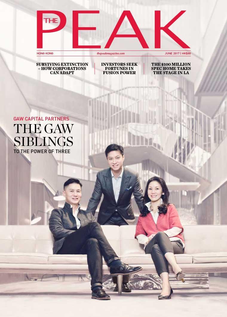 Majalah Digital THE PEAK Hongkong Juni 2017