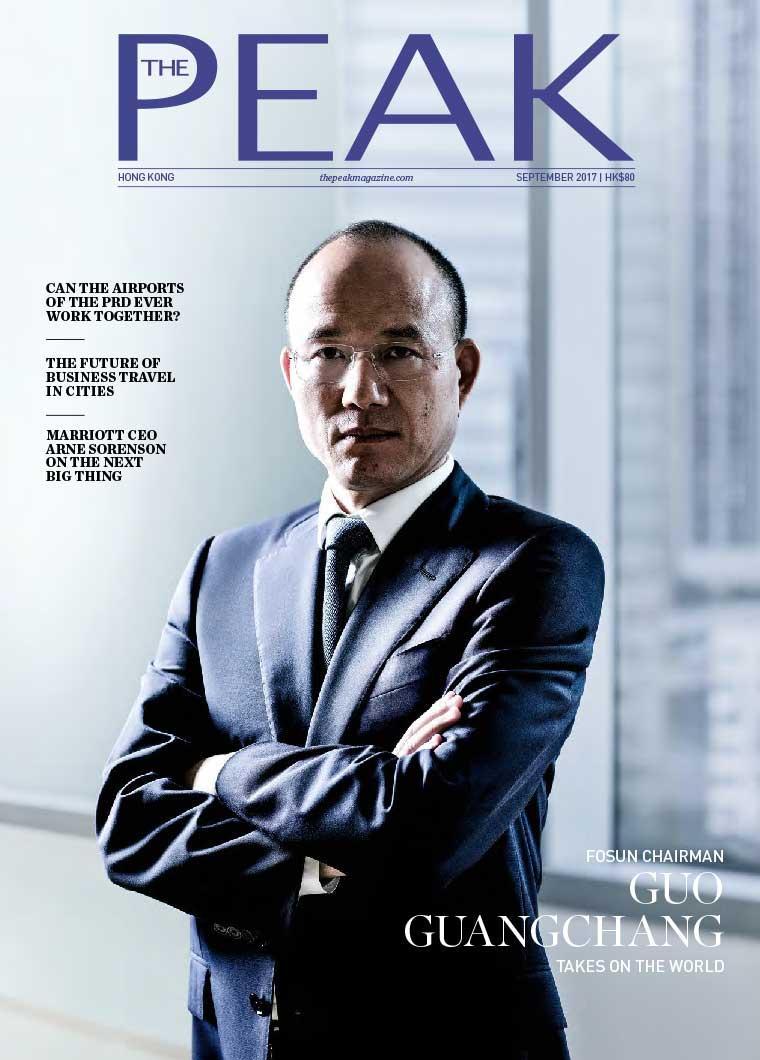 Majalah Digital THE PEAK Hongkong September 2017