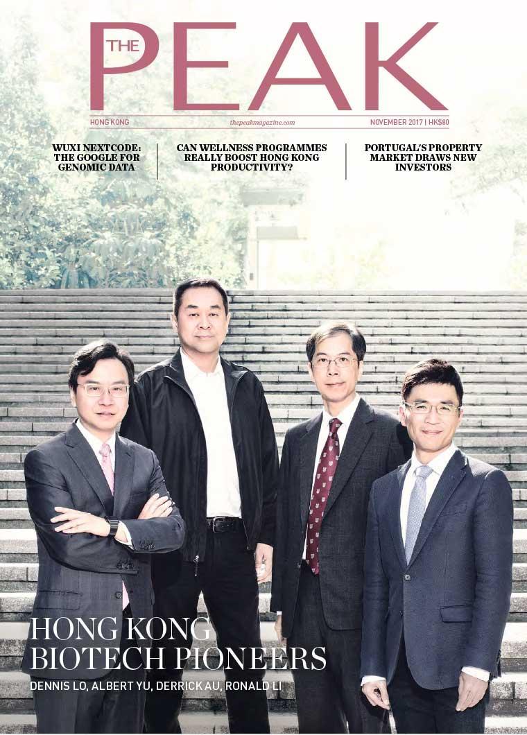 Majalah Digital THE PEAK Hongkong November 2017