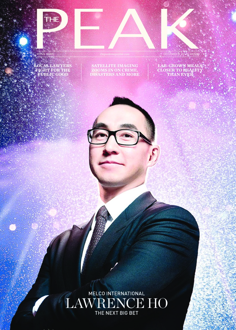 Majalah Digital THE PEAK Hongkong Desember 2017