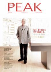 Cover Majalah THE PEAK Hongkong Agustus 2016