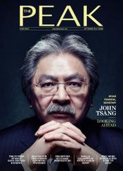 Cover Majalah THE PEAK Hongkong September 2016